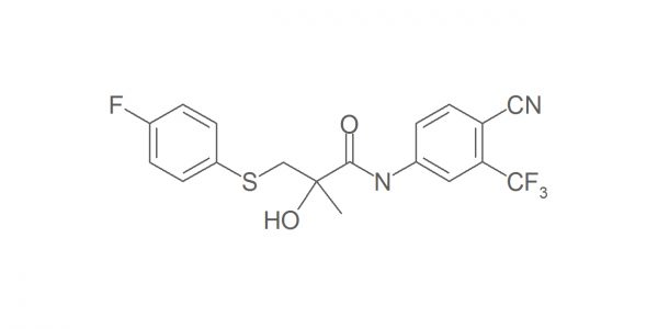 Bicalutamide sulfide