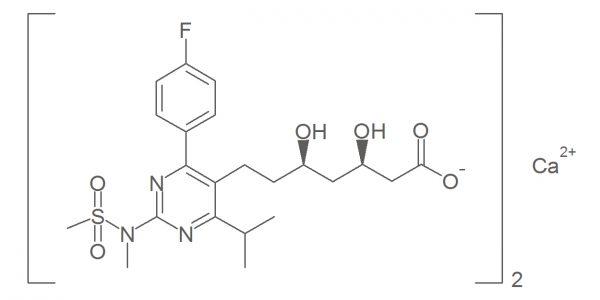 Rosuvastatin Calcium 6,7-Dihydro Impurity