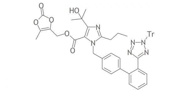 ga01172 - Olmesartan Medoxomil Impurity D (EP); Trityl olmesartan medoxomil